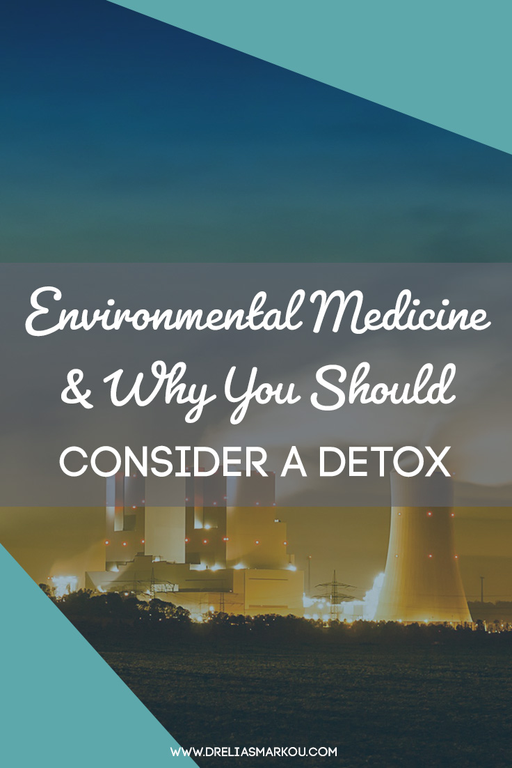 Smokestack Polution - Learn About Environmental Medicine and Why You Should Consider a Detox with Dr. Elias Markou, ND - The Detox Coach